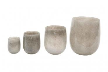 Dutz Vase barrel new grey