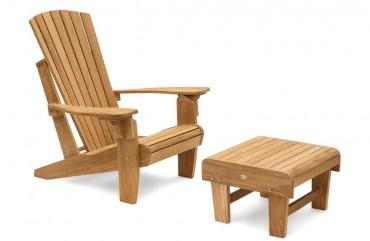 Adirondack Chair Westport mit Hocker