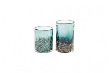 Dutz Vase Cylinder bubbl pine