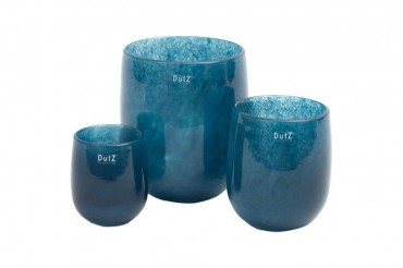 Dutz Vase barrel navy