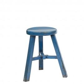 Hocker Krukje blau
