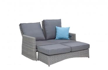 Lounge-Sofa Colorado naturgrau