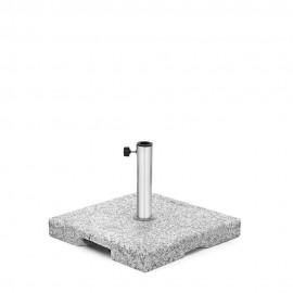 Vario Schirmständer, 55 kg, grau