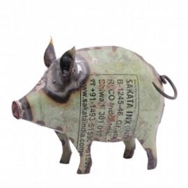 Schwein Kanu